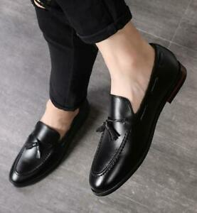 Mens Dress Formal Leather Shoes Pointy Toe Business Work Oxfords Party Low Top