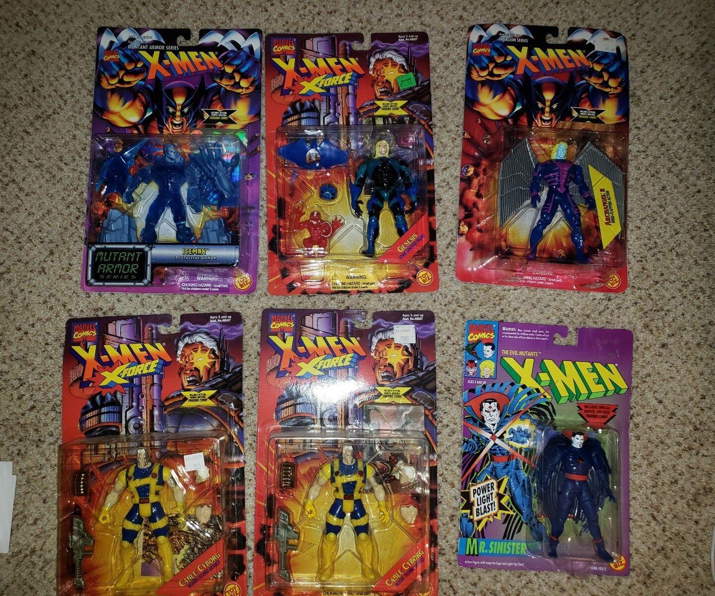 Marvel xmen 90er jahre viele action - figuren