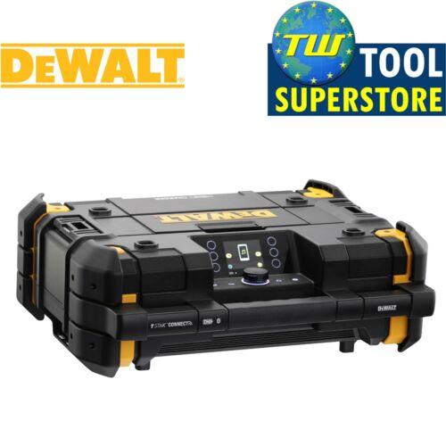 DeWalt 10.8V 18V 54V FlexVolt XR T-STAK Bluetooth DAB Job Site Radio Body Only