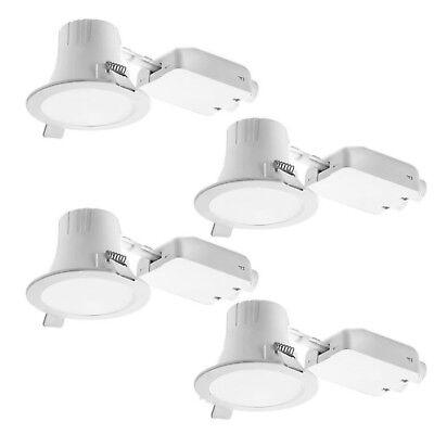 4 X Ikea Lakene 200lm Recessed Led Spotlights 4w 3000k Warm White Uk B786 Ebay