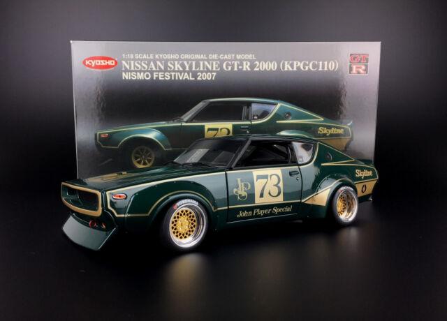 Kyosho Nissan Skyline GT-R 2000 (KPGC 110) Nismo Festival 2007 transformation mod 1:18 BBS