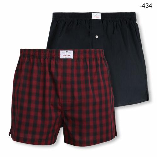 2er Pack Tom Tailor Webboxer Boxerhorts Shorts Unterhosen Urban Farbwahl