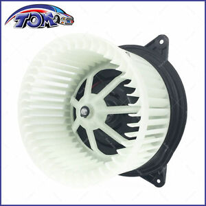 A//C HEATER BLOWER MOTOR W// FAN CAGE YS4Z19805AB FOR 00-07 FORD FOCUS