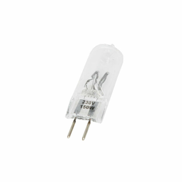 Quadralite Lampada di Ricambio 150W G6.35 per Flash da Studio Quantuum