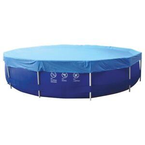 jilong pool abdeckung abdeckplane schutzplane f r runde frame pool 300 305 ebay. Black Bedroom Furniture Sets. Home Design Ideas
