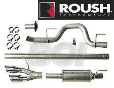 2011-2014 Ford F-150 Cat-back Roush 421711 Side Exit Exhaust System Kit