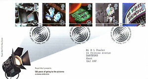16-APRIL-1996-100-YEARS-OF-THE-CINEMA-RM-FIRST-DAY-COVER-BUREAU-SHS
