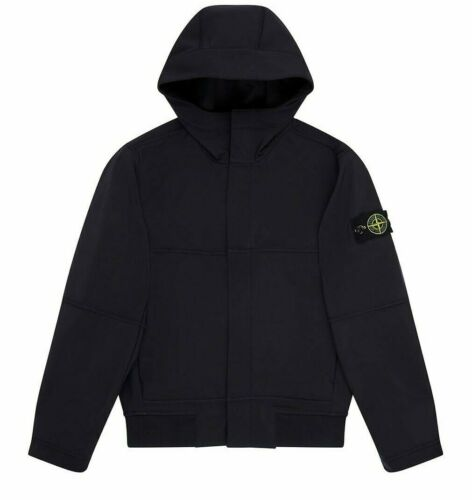 STONE Island Junior 40234 Luce Soft Shell-r Giacca in Blu Navy