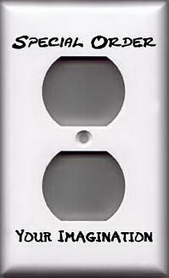 Single Outlet Plate Cover - Special Order