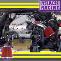 88 89 90 91 92 93 94 Chevy Cavalier Z24 2.8l 3.1l V6 Air Intake Kit Red