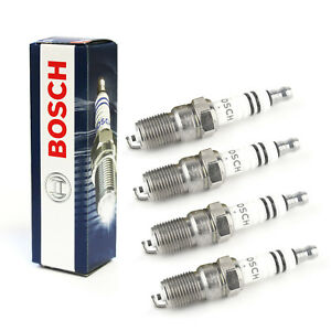 4x-Ford-Fiesta-MK6-1-25i-16-V-Original-Bosch-Bujias-Super-Plus