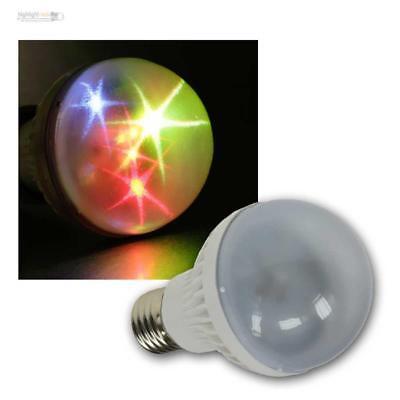 E27 Party Birne 0,5-1,5w 6x Rgb Led Bunt Disko Effekt Farbwechsel Disco Strahler Ausgezeichnete (In) QualitäT
