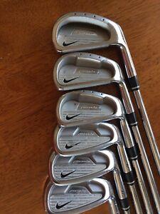 Asalto Digno metodología  Nike Golf Hierros Forjados Oversize procombo # s 4, 6-PW Speed Step Eje De  Acero Rígido Rh   eBay