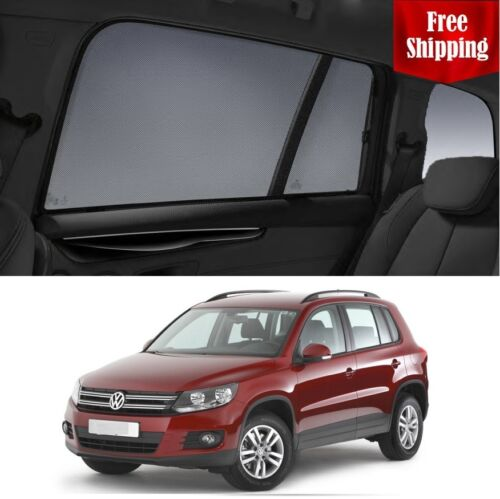 Volkswagen 2015 Tiguan Magnetic Rear Car Window Sun Blind Sun Shade Mesh