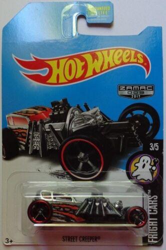 2017 Hot Wheels FRIGHT CARS 3//5 Street Creeper Zamac Version