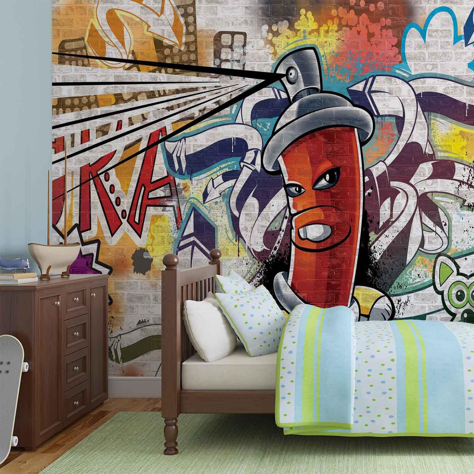 WALL MURAL PHOTO WALLPAPER XXL Graffiti Street Art (1395WS)