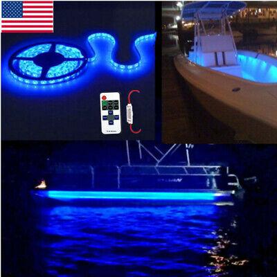 Blue Led Boat Light Deck Waterproof 12v