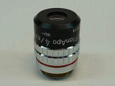 Nikon Planapo 4x020 160 Microscope Objective Outstanding Condition