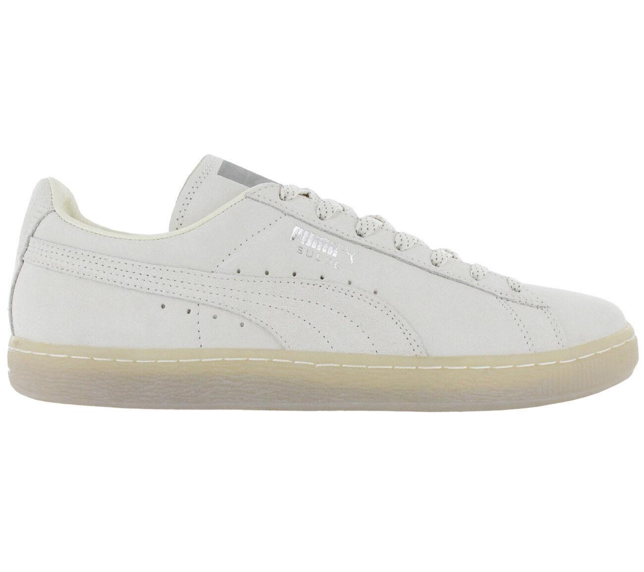 Puma Suede Classic mono Ref Iced zapatillas hombres zapatos gran de cuero blanco gris gran zapatos descuento f763b1