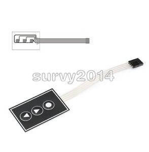 1x3 Matrix Array 3Key 1*3 Keys Membrane Switch Keypad Keyboard 36*55mm