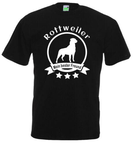 Chiens T-shirt gassimann 10-888-0 - Rottweilers-Mon meilleur ami Dogman