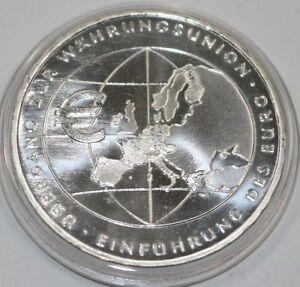 10 Euro Münze Brd übergang Zur Währungsunion Einführung Des Euro