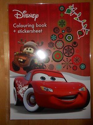Malbuch Ausmalbuch Malheft mit Stickerbogen Weihnachten Frozen Nr.01