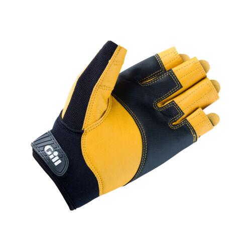 Bootsport Schwarz Bekleidung Gill Pro Short Finger Segelhandschuhe 2018