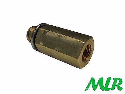LMA Oil Temperature Sump Plug Adapter M18x1.5 Sump Thread M10x1 Sender Thread