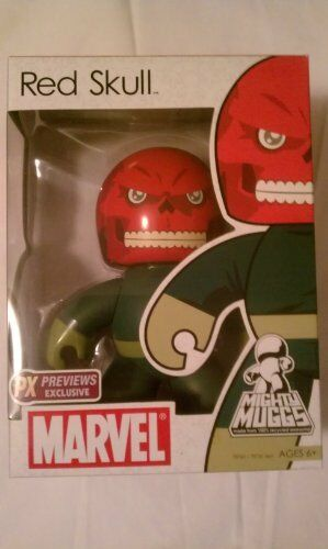 Marvel Mighty Muggs Previews Exclusive Figure Red Skull