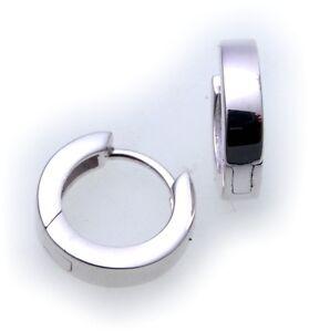 Ohrringe-KlappCreolen-echt-Silber-925-Durchmesser-12-mm-Sterlingsilber-Unisex