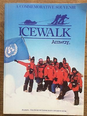 Getrouw A Commemorative Souvenir Icewalk Signed By Robert Swan North Pole Expedition Snelle Warmteafvoer
