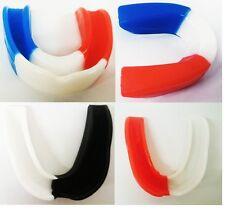 Boxing Mouth Guard MMA Martial Arts Gum Shield Rugby Sport B5H5 Protection E0K1