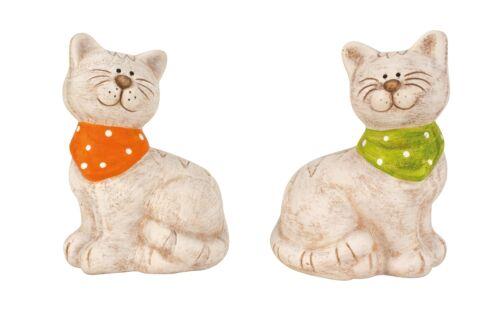 Katzen Paar 18 cm hoch