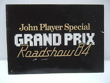 John Player Special Grand Prix Roadshow 84 - History, Cars, Clothing