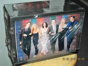 Details about Friends - The One With All Ten Seasons Collectors Box (DVD,  2005, 40-Disc Set)