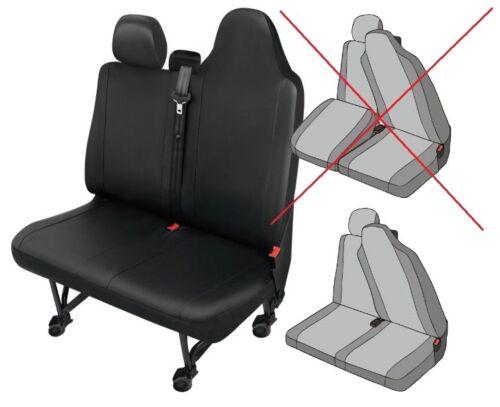 Kunstleder Sitzbezüge OPEL MOVANO B DV12SC ab 2010 Sitzbezüge  Schonbezug