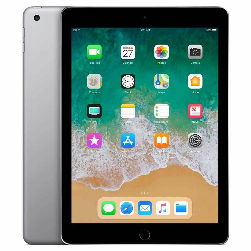 "iPad: Apple iPad 5.Generation 32GB A1822 WiFi 9,7"" 2048×1536 IPS WLAN 2017 MP2F2KN/A"