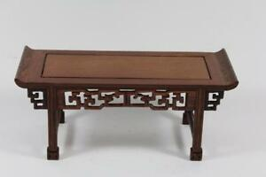 31-cm-Blumen-Bonsai-Sockel-Untersetzer-Holz-China