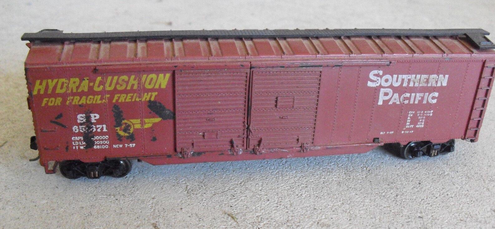 Industrial Rail N scale Freight Cars SOUTHERN PACIFIC SP HYDRA-Cushion box car
