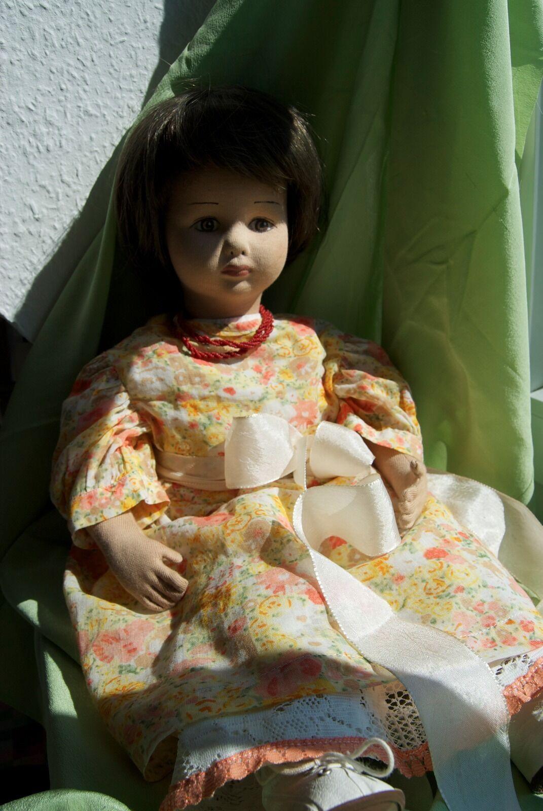 Lavorate a mano stoffa bambola