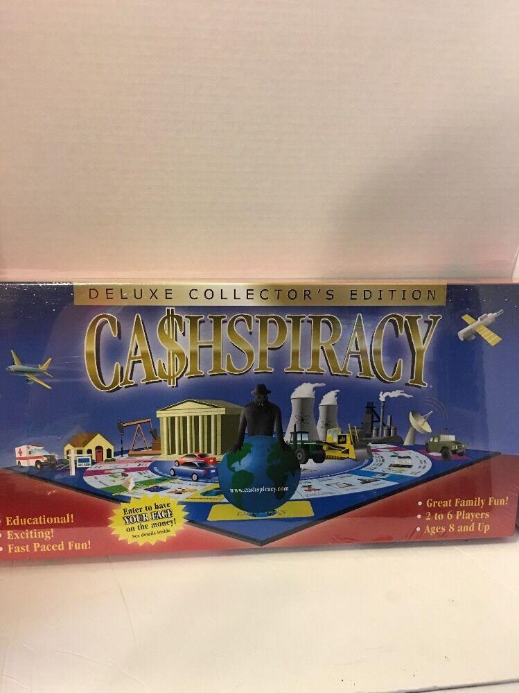 Ca hpiracy Deluxe collector's Edition Educational Board Game Game Game  Cashspiracy 43df07