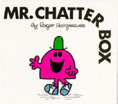 Hargreaves, Roger, Mr. Chatterbox (Mr. Men Library), Paperback, Excellent Book