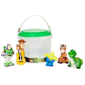 Nouveau Official Disney Toy Story Bain Ensemble 5 pièces Baignoire Toy Playset