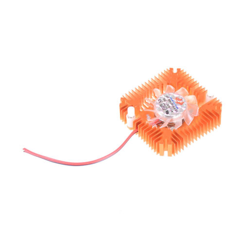Aluminum Heatsink with fan for 5W//10W High Power LED Cooling Cooler DC12V MW