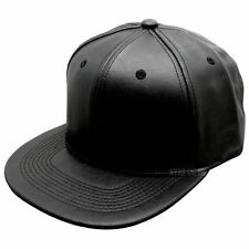 45043d91b74 item 4 New Men Bboy Leather Canvas Adjustable Black Baseball Cap Snapback  Hip-hop Hat -New Men Bboy Leather Canvas Adjustable Black Baseball Cap  Snapback ...