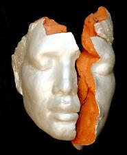 Japan Artist KYU YAMAMOTO Pottery MODERN ART Sculpture Plaque ST PETERSBURG FL