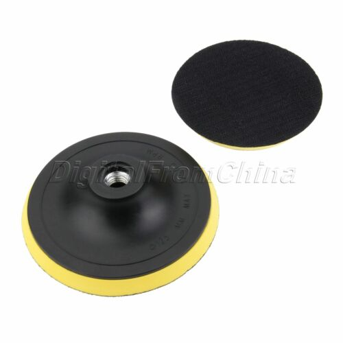 "3//4//5/"" Car Auto M14 Backing Plate Pad Hook /& Loop Polishing Buffing Pad"