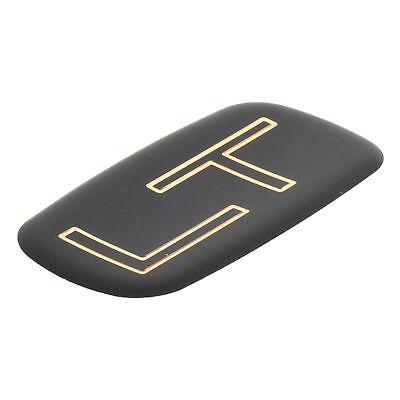 OEM NEW Side Panel LT Emblem Black Gold 99-07 Silverado Suburban Tahoe 15036136