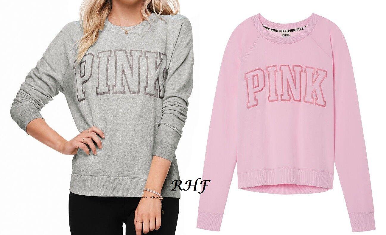 Victoria's Secret PINK University Crew S-M NEW